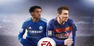 Juan Cuadrado joins Messi on the Latin American FIFA 16 cover