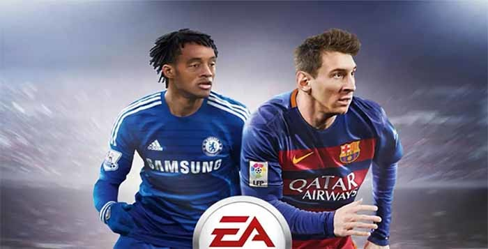 Juan Cuadrado joins Messi on the Latin American FIFA 16 cover
