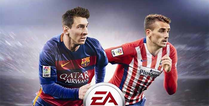 Antoine Griezmann joins Messi on the French FIFA 16 cover