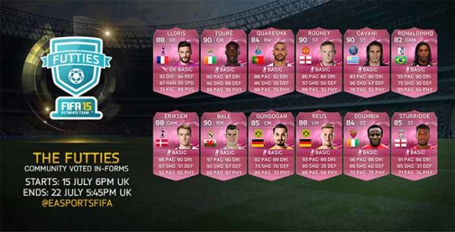 FIFA 15 FUTTIES Are Now Live !