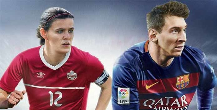 Christine Sinclair joins Messi on the FIFA 16 cover of Canada