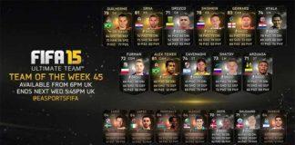 FIFA 15 Ultimate Team - TOTW 45