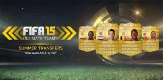 FIFA 15 Ultimate Team Summer Transfers