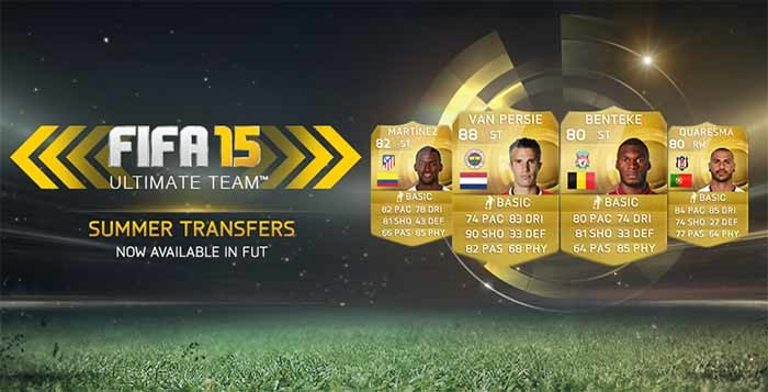 FIFA 15 Ultimate Team Summer Transfers