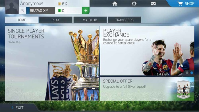 New EA Sports FIFA Screenhots to iOS and Android