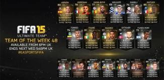 FIFA 15 Ultimate Team - TOTW 48