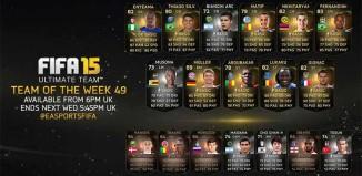 FIFA 15 Ultimate Team - TOTW 49