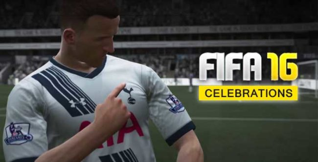 All the FIFA 16 Celebrations for Playstation