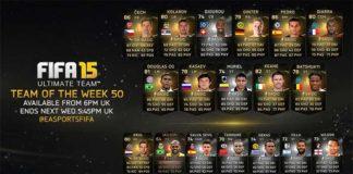 FIFA 15 Ultimate Team - TOTW 50