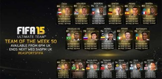 FIFA 15 Ultimate Team - TOTW 50