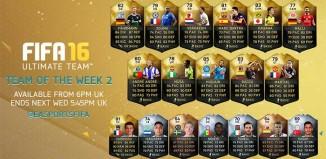 FIFA 16 Ultimate Team - TOTW 2