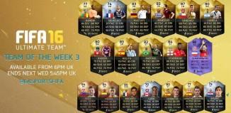FIFA 16 TOTW 3