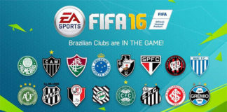 Brazilian Teams to join FIFA 16