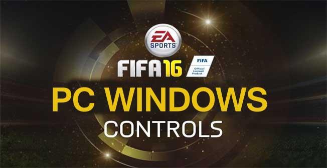Complete FIFA 16 Controls for PC Windows