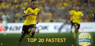 Fastest FIFA 16 Players