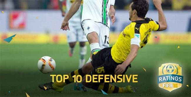 Best Defensive FIFA 16 Players