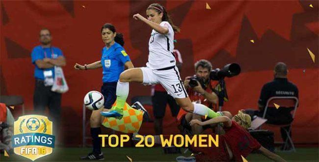 Best FIFA 16 Women's Players