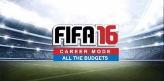 Career Mode's Transfer Budgets of FIFA 16 Clubs