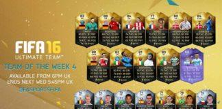 FIFA 16 Ultimate Team - TOTW 4