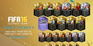 FIFA 16 Ultimate Team - TOTW 6