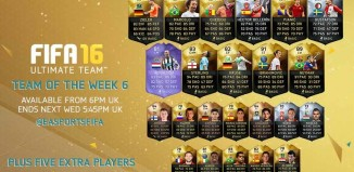 FIFA 16 Ultimate Team - TOTW 6