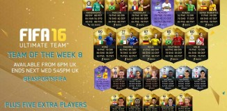 FIFA 16 Ultimate Team - TOTW 8