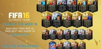 FIFA 16 Ultimate Team - TOTW 16