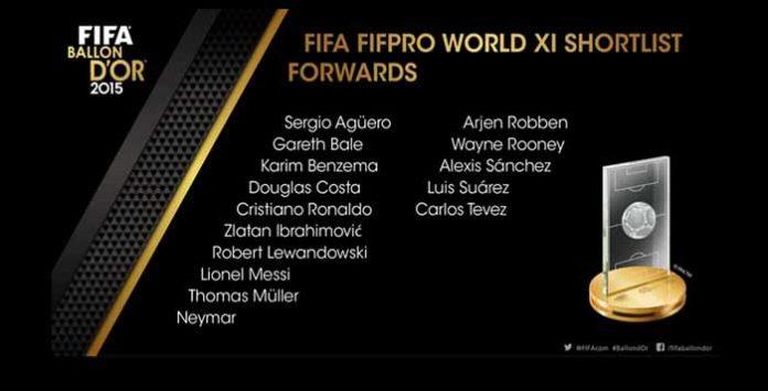 FIFA 16 Ultimate Team TOTY Forwards Shortlist