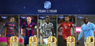 FIFA 16 TOTY Midfielders Available in Packs Now