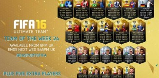 FIFA 16 Ultimate Team - TOTW 24