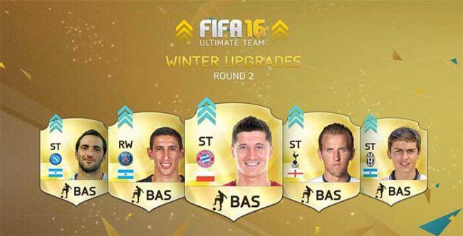 FIFA 16 Ultimate Team Winter Upgrades - Batch 2