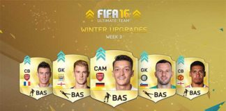 FIFA 16 Ultimate Team Winter Upgrades - Batch 3