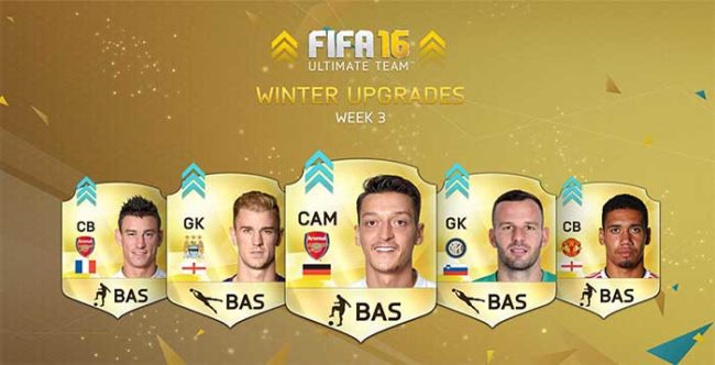 FIFA 16 Ultimate Team Winter Upgrades - Batch 3
