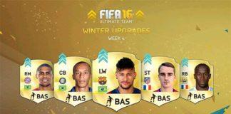 FIFA 16 Ultimate Team Winter Upgrades - Batch 4