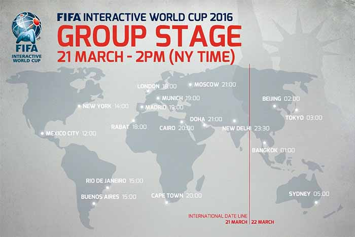 Watch the Grand Final of FIFA Interactive World Cup 2016 Live