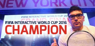 Mohamad Al-Bacha won the FIFA Interactive World Cup 2016