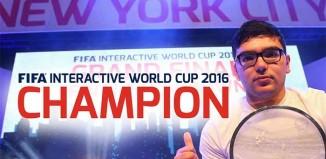 Mohamad Al-Bacha won the FIFA Interactive World Cup 2016