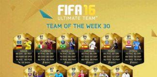 FIFA 16 TOTW 30