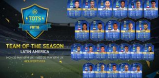FUT 16 LATAM TOTS (Argentina, Mexico, Chile and Colombia)
