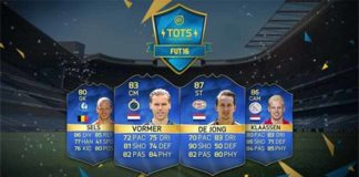 FUT 16 Benelux TOTS (Eredivisie and Pro League)