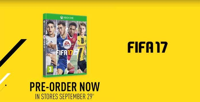 FIFA 17 Cover was revealed by EA Sports