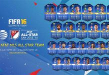 FUT 16 MLS All-Stars Team of the Season