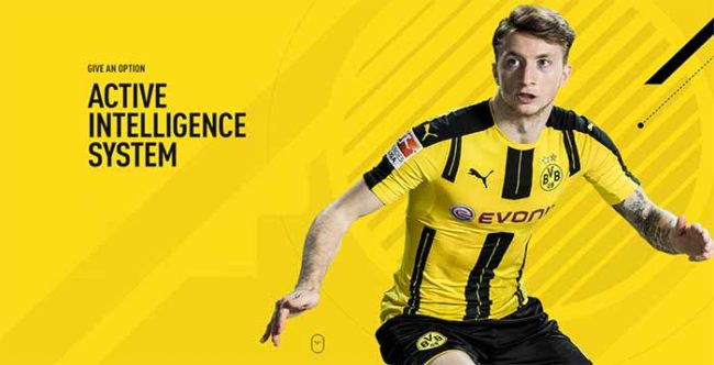 FIFA 17 New Active Intelligence System