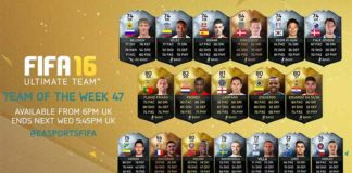 FIFA 16 Ultimate Team - TOTW 47