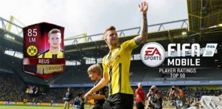 FIFA 17 Ratings for EA Sports FIFA Mobile Best Players