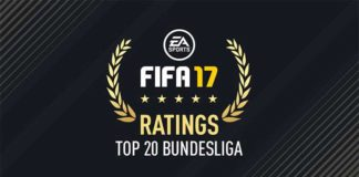 FIFA 17 Bundesliga Best Players - Top 20 of German League