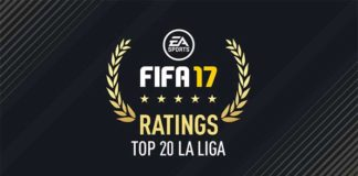 FIFA 17 La Liga Best Players - Top 20 of Spanish League