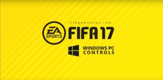 Complete FIFA 17 Controls for PC Windows