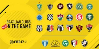 FIFA 17 will not feature the Brazilian clubs full Licensed as Announced