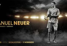 FIFA 17 Team of the Year Shortlist - Best Goalkeeper of the World